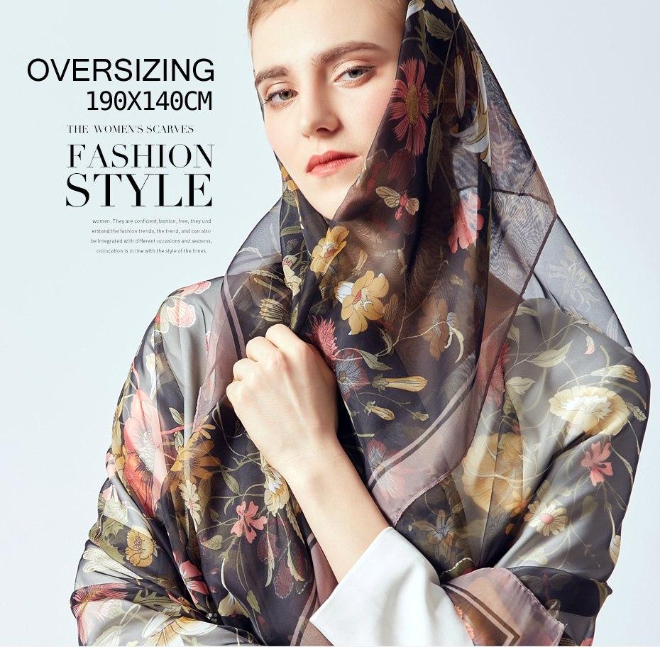 Beautiful Black Satin New Lady Women Fashion Scarf Shawl Wrap Headscarf Stole
